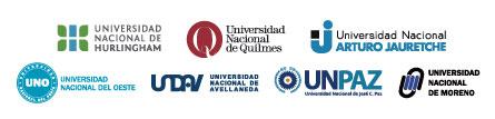 Universidades integrantes del consorcio CONUSUR